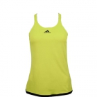 Adidas Womens Climachill Tennis Tank (Lime Green / Black - Women's Tennis Apparel