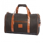 Prince Classic Circle Duffle (Black/ Tan) - Prince Classics Collection Tennis Bags