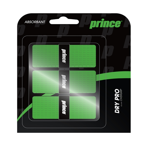 Prince DryPro Overgrip 3 Pack (Green)