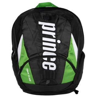 Prince Tour Team Green Backpack (Black/ White/ Green)