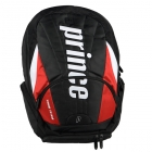 Prince Tour Team Red Backpack (Black/ White/ Red) - Prince Tennis Bags
