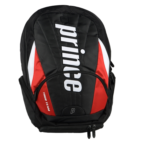 Prince Tour Team Red Backpack (Black/ White/ Red)