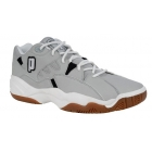 Prince Men's NFS Indoor II Shoes (Gry/ Wht/ Blk) - Lightweight Tennis Shoes