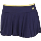 Lotto Women's Nixia Skirt (Navy/ Yellow) - Lotto Tennis Apparel