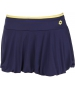 Lotto Women's Nixia Skirt (Navy/ Yellow) - Women's Skirts Tennis Apparel