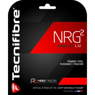 Tecnifibre NRG2 16g Tennis String (Set)