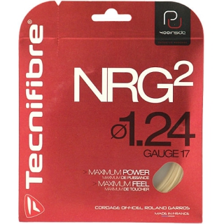 Tecnifibre NRG2 17g Tennis String (Set)