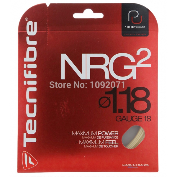 Tecnifibre NRG2 18g Tennis String (Set)