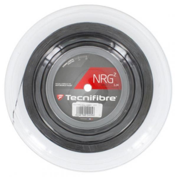 Tecnifibre NRG2 16g Black Tennis String (Reel)