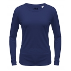 A4 Women's Performance Long Sleeve Crew (Navy) - A4 Women's Apparel Tennis Apparel