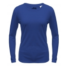 A4 Women's Performance Long Sleeve Crew (Royal) - A4