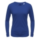 A4 Women's Performance Long Sleeve Crew (Royal) - A4 Women's Long-Sleeve Shirts Tennis Apparel