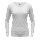 A4 Women's Performance Long Sleeve Crew (White) - A4 Tennis Apparel