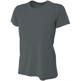 A4 Women's Cooling Performance Crew (Graphite)