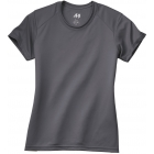 A4 Women's Cooling Performance Crew (Graphite) - Women's Tops Tennis Apparel