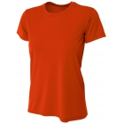 A4 Women's Cooling Performance Crew (Orange) - Women's Tennis Apparel
