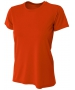 A4 Women's Cooling Performance Crew (Orange) - A4 Women's Team Tennis Apparel