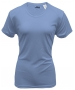 A4 Women's Cooling Performance Crew (Light Blue) - A4 Women's Apparel Tennis Apparel