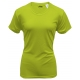 A4 Women's Cooling Performance Crew (Lime) - A4
