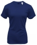 A4 Women's Cooling Performance Crew (Navy) - A4 Women's Apparel Tennis Apparel