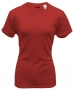 A4 Women's Cooling Performance Crew (Scarlet) - A4 Women's Apparel Tennis Apparel