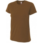 A4 Women's Performance Tri Blend Tee (Brown) -
