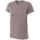 A4 Women's Performance Tri Blend Tee (Heather) - Brands
