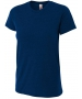 A4 Women's Performance Tri Blend Tee (Navy) - A4 Women's Apparel