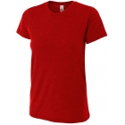 A4 Women's Performance Tri Blend Tee (Scarlet) - Brands