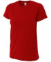 A4 Women's Performance Tri Blend Tee (Scarlet) - A4 Men's T-Shirts & Crew Necks Tennis Apparel