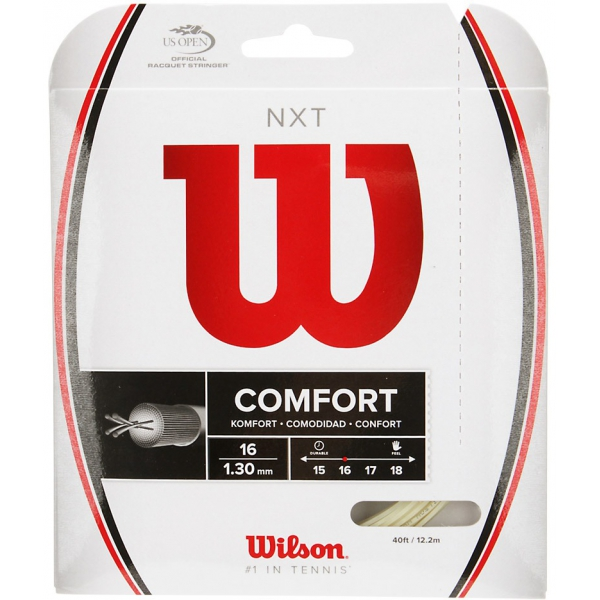 Wilson NXT 16g Tennis String (Set)