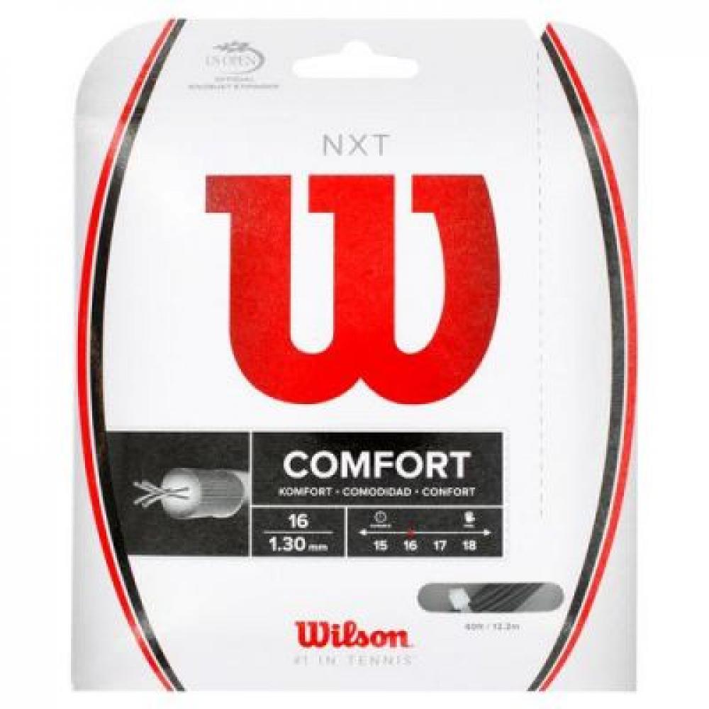 Wilson NXT 16g Black Tennis String (Set)