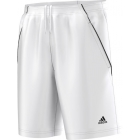 Adidas Men's Tennis Sequentials Bermuda Shorts (White/ Black) - Men's Adidas Apparel