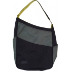Maggie Mather Maggie Bag Tote (Black/ Pewter/ Lime) - Tennis Tote Bags