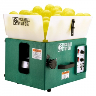 The Pickleball Tutor Basic Portable Ball Machine (Random Oscillation)