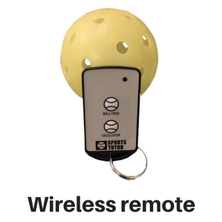 The Pickleball Tutor Portable Ball Machine Wireless 2-Function Remote