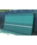 REAListic Dual-Curved Backboard 8'H x 16'W - OnCourt OffCourt Tennis Equipment
