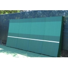 REAListic Straight-Tilt Tennis Backboard 8'H x 16'W - Sloped Tennis Rebound Walls