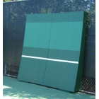 OnCourt OffCourt REAListic Straight-Tilt Tennis Backboard 8'H x 8'W - Sloped Tennis Rebound Walls
