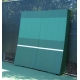 REAListic Straight-Tilt Tennis Backboard 8'H x 8'W - Sloped