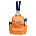 Court Couture Hampton Backpack (Orange) - Court Couture Tennis Bags