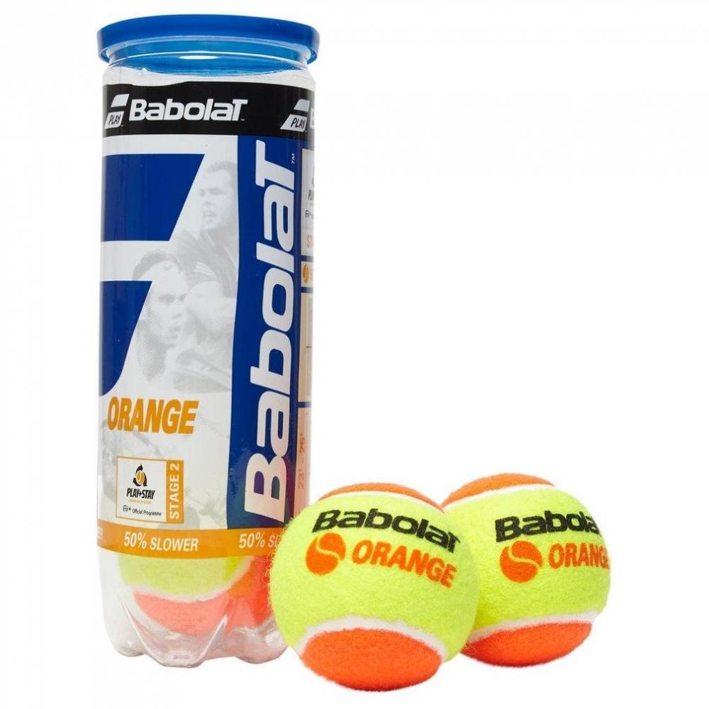 Babolat Nadal Jr Tennis Racquet, Orange Tennis Ball Bundle