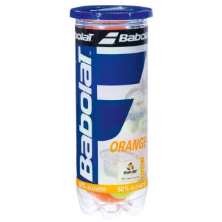 Babolat Kids Stay and Play Orange Tennis Ball (3 Ball Can)