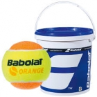 Babolat Kids Orange Tennis Ball (36 Ball Bucket) - Tennis Skills Equipment
