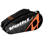 Volkl Team Combi 6-Pack Bag (Black / Orange) - Volkl Team Series Tennis Bags