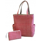40 Love Courture Orange Weave Emma Tote - 40 Love Courture