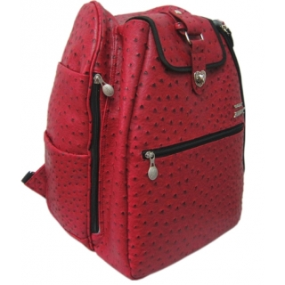 Jet Ostrich Crimson Cooljet Tennis Bag