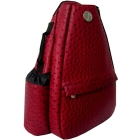 Jet Ostrich Crimson Small Sling - Jet Small Tennis Bags