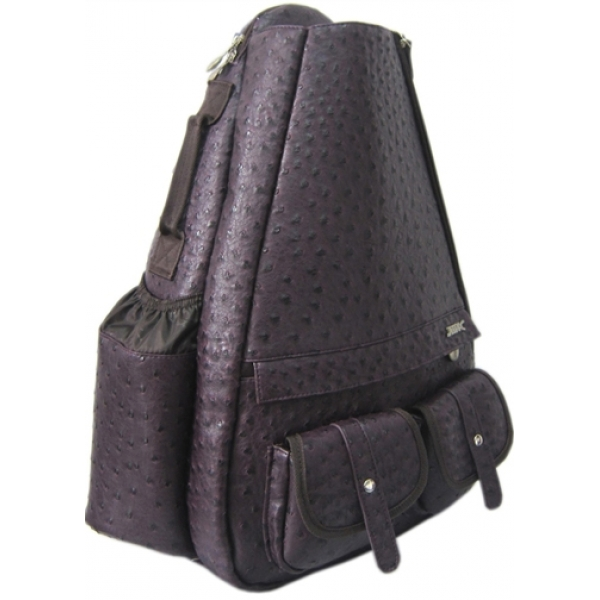 Jet Ostrich Eggplant Small Sling Elite Convertible