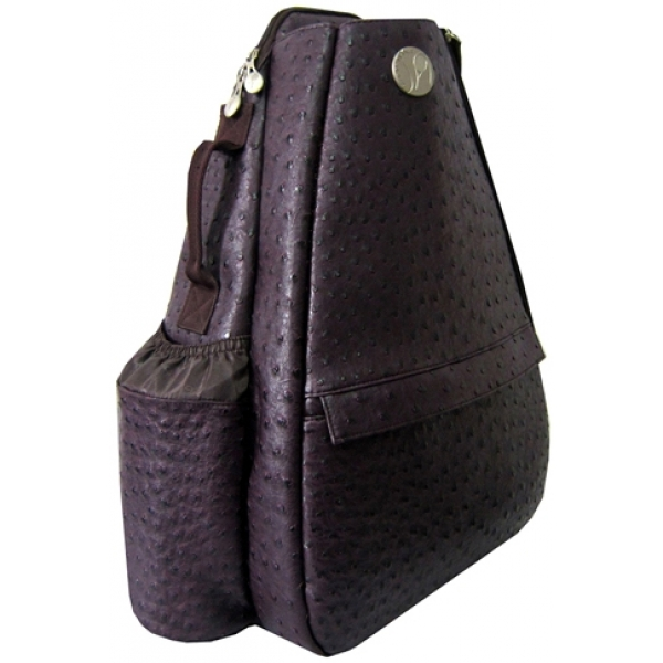 Jet Ostrich Eggplant Small Sling Convertible